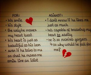 text and love image