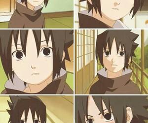 anime, kid, and sasuke image