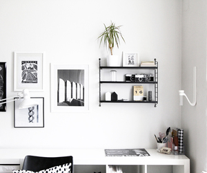 white, home, and black image
