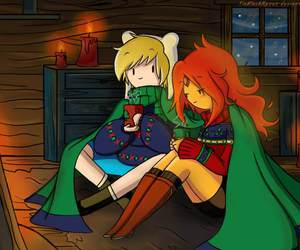 winter and adventure time image