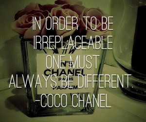 coco chanel, life, and quote image