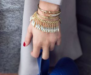 accessories, bracelets, and winter fashion image