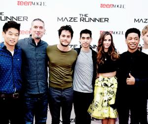cast, KAYA SCODELARIO, and the maze runner image