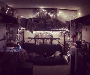 dorm room, lovely, and room inspiration image
