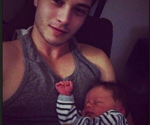 baby, boy, and Francisco Lachowski image