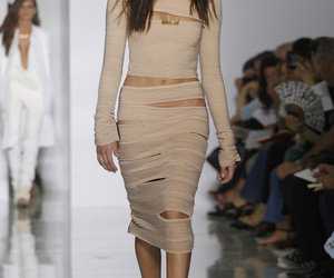 catwalk, Nude, and dress image