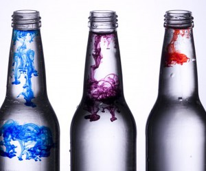 bottle, blue, and purple image