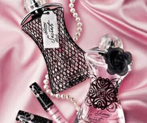 pink, perfume, and girly image