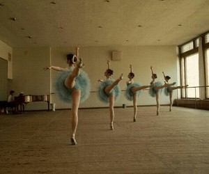 ballet and blue image