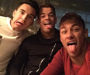 neymar, neymar jr, and friends image