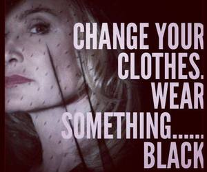 black, coven, and jessica lange image