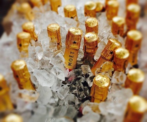 ice, drink, and champagne image