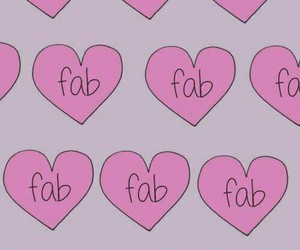 background, fab, and heart image
