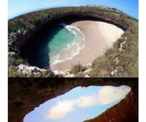 mexico, cool, and hidden beach image