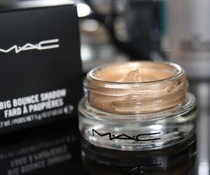 mac, makeup, and gold image