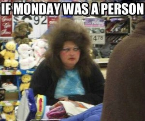 monday, funny, and lol image