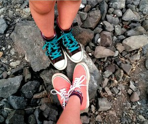 converse, pink, and cute image