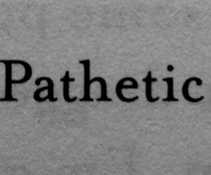 hater, pathetic, and life image