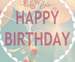 happy birthday, birthday, and balloons image