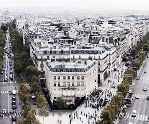 city, paris, and place image