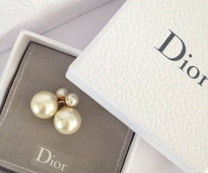 dior, fashion, and earrings image