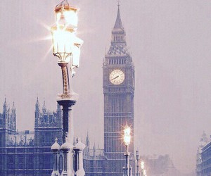 snow and london image