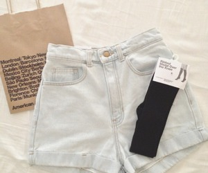 shorts, fashion, and american apparel image