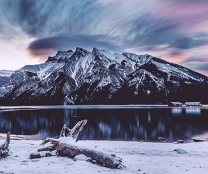 nature, mountains, and sky image