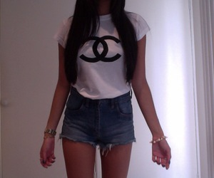 girl, chanel, and pale image