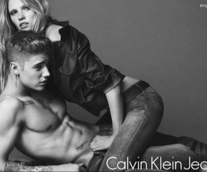 Calvin Klein, sexy, and justin bieber image
