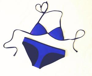 bikini, blue, and summer image