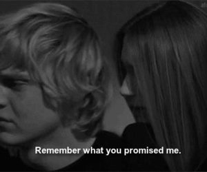 american horror story, promise, and quote image
