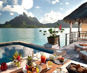 beach, places, and vacations image