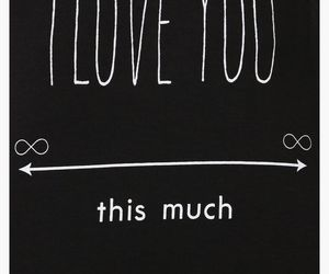 love, infinity, and quotes image