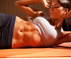 abs, exercise, and fitspo image