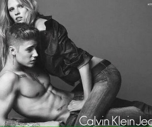 Calvin Klein, photoshoot, and justin bieber image