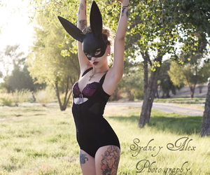 bunny, lingerie, and kristie california image