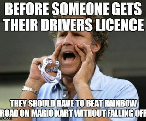 funny, true, and mario kart image