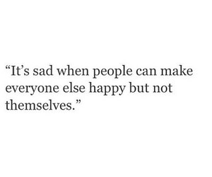 sad, happy, and quote image
