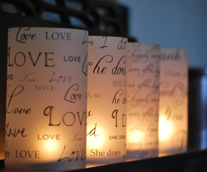 awesome love candles image