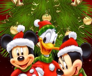 christmas, disney, and donald image