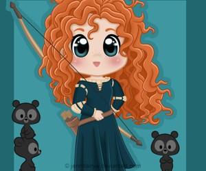 disney, princess, and brave image