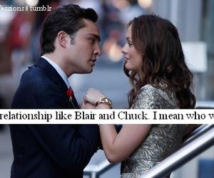 blair, love, and chuck image