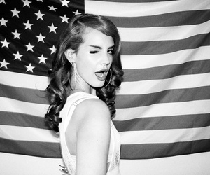 lana, pretty, and black and white image