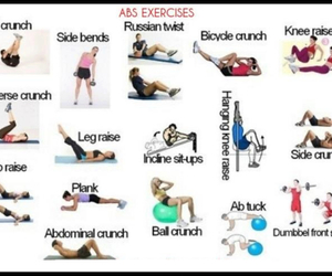 exercise, health, and workout image