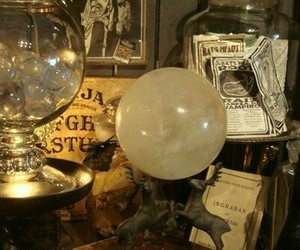 witch, magic, and magic ball image