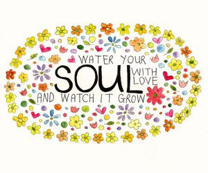 quotes, soul, and grow image