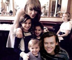 Taylor Swift, 1d, and harry & taylor image