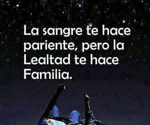 family, blood, and frases image