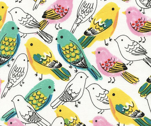 birds, wallpaper, and background image